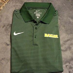 Men's Large Nike Baylor Dry-fit Shirt